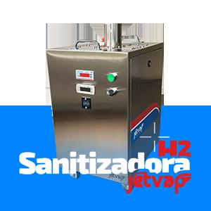 Sanitizadora H2 Jet Vap | Jet Vap - Lavadoras a Vapor