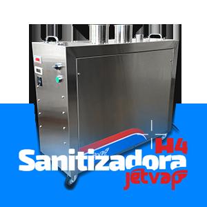 Sanitizadora H4 Jet Vap | Jet Vap - Lavadoras a Vapor